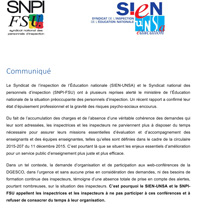 Communique SIEN SNPI Web conferences